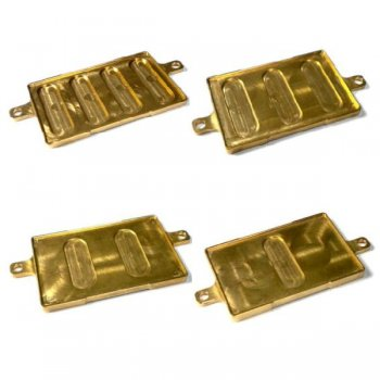 HK104-15CO Copper Battery Plate 15g