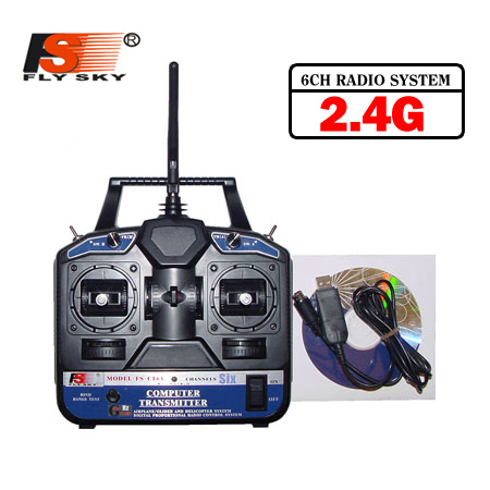 CT-6A 2.4G Radio - 6 Channels