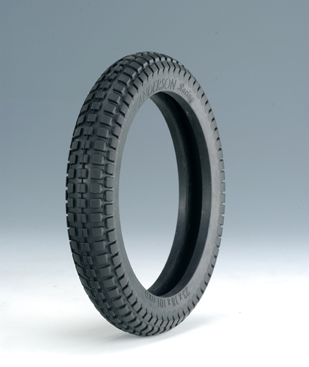 FRONT CHOCOLATE TYPE TIRE